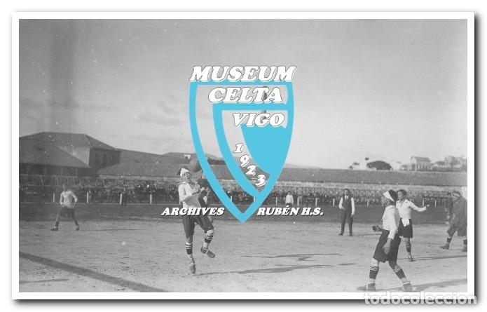 Coleccionismo deportivo: FOTOS DEL CAMPO DE COYA (COIA) AÑOS 20 EN VIGO - VIGO SPORTING, FORTUNA, CELTA - Foto 5 - 246750205