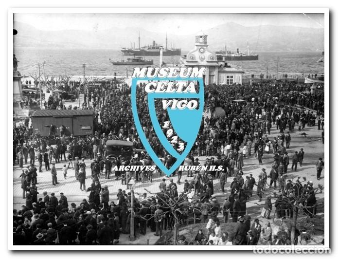 26 FOTOS DE LA VISITA DE LA SELECCIÓN DE URUGUAY A VIGO EN 1924 - CELTA DE VIGO (Coleccionismo Deportivo - Postales de Deportes - Fútbol)