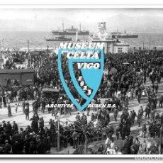 Coleccionismo deportivo: 26 FOTOS DE LA VISITA DE LA SELECCIÓN DE URUGUAY A VIGO EN 1924 - CELTA DE VIGO. Lote 175731358