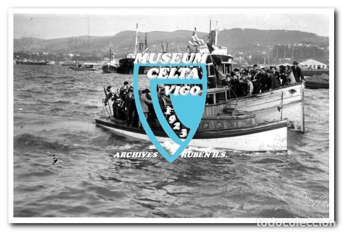 Coleccionismo deportivo: 26 FOTOS DE LA VISITA DE LA SELECCIÓN DE URUGUAY A VIGO EN 1924 - CELTA DE VIGO - Foto 2 - 175731358
