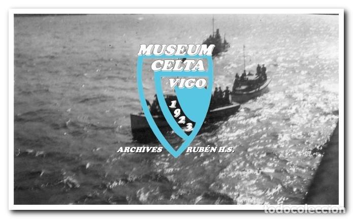 Coleccionismo deportivo: 26 FOTOS DE LA VISITA DE LA SELECCIÓN DE URUGUAY A VIGO EN 1924 - CELTA DE VIGO - Foto 3 - 175731358