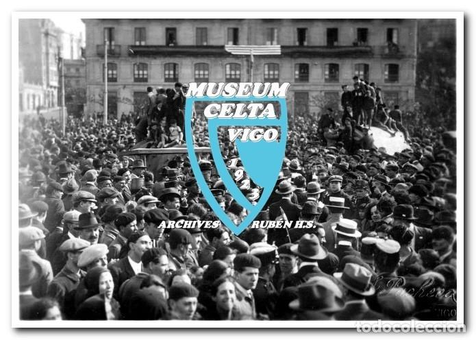 Coleccionismo deportivo: 26 FOTOS DE LA VISITA DE LA SELECCIÓN DE URUGUAY A VIGO EN 1924 - CELTA DE VIGO - Foto 4 - 175731358