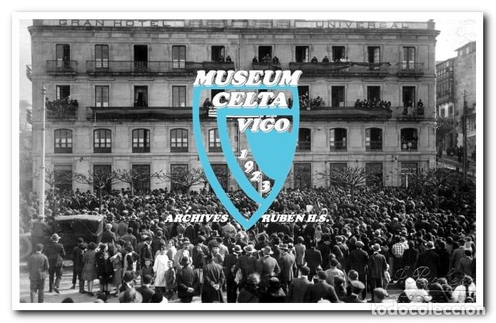 Coleccionismo deportivo: 26 FOTOS DE LA VISITA DE LA SELECCIÓN DE URUGUAY A VIGO EN 1924 - CELTA DE VIGO - Foto 5 - 175731358