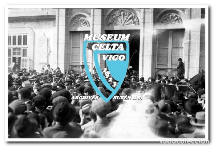 Coleccionismo deportivo: 26 FOTOS DE LA VISITA DE LA SELECCIÓN DE URUGUAY A VIGO EN 1924 - CELTA DE VIGO - Foto 6 - 175731358