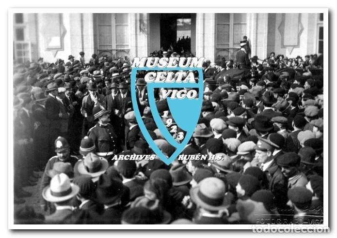Coleccionismo deportivo: 26 FOTOS DE LA VISITA DE LA SELECCIÓN DE URUGUAY A VIGO EN 1924 - CELTA DE VIGO - Foto 7 - 175731358