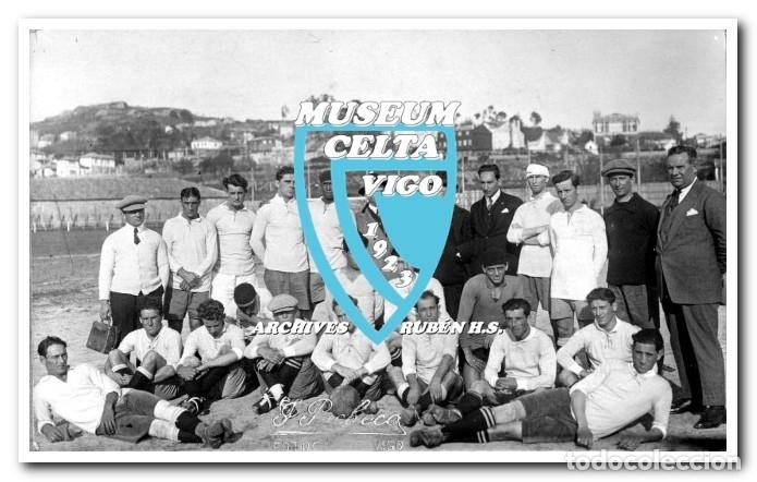 Coleccionismo deportivo: 26 FOTOS DE LA VISITA DE LA SELECCIÓN DE URUGUAY A VIGO EN 1924 - CELTA DE VIGO - Foto 9 - 175731358