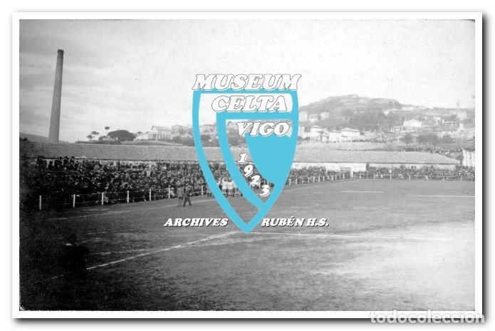 Coleccionismo deportivo: 26 FOTOS DE LA VISITA DE LA SELECCIÓN DE URUGUAY A VIGO EN 1924 - CELTA DE VIGO - Foto 10 - 175731358