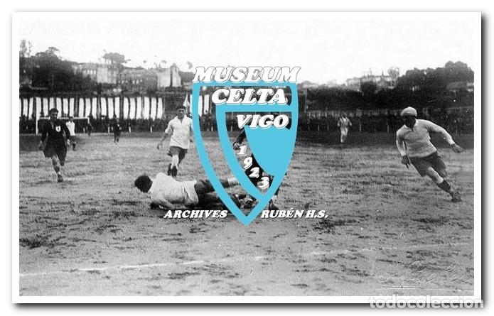 Coleccionismo deportivo: 26 FOTOS DE LA VISITA DE LA SELECCIÓN DE URUGUAY A VIGO EN 1924 - CELTA DE VIGO - Foto 11 - 175731358