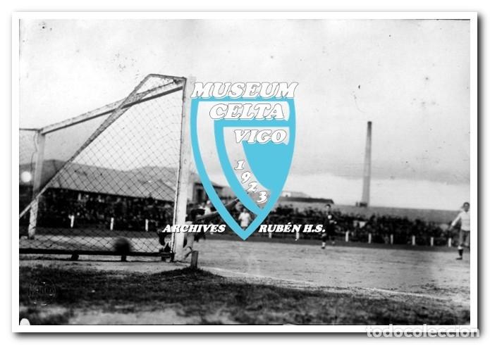 Coleccionismo deportivo: 26 FOTOS DE LA VISITA DE LA SELECCIÓN DE URUGUAY A VIGO EN 1924 - CELTA DE VIGO - Foto 13 - 175731358
