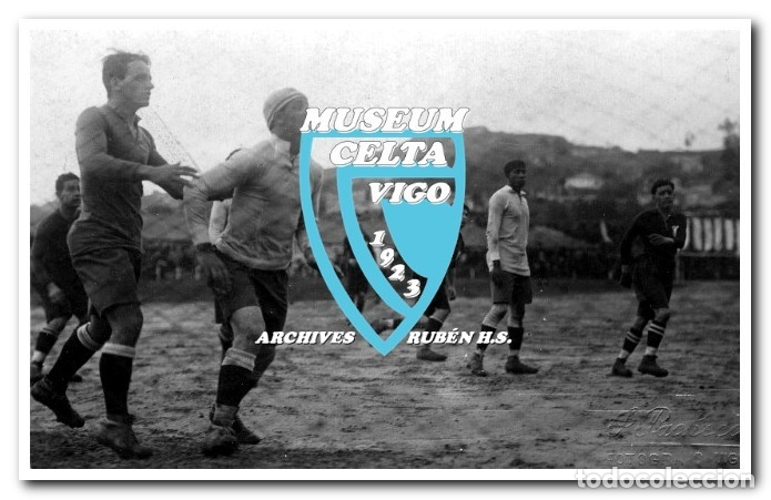 Coleccionismo deportivo: 26 FOTOS DE LA VISITA DE LA SELECCIÓN DE URUGUAY A VIGO EN 1924 - CELTA DE VIGO - Foto 14 - 175731358