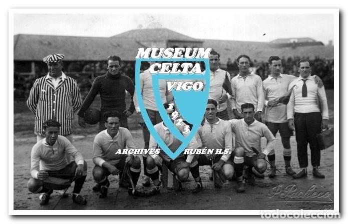 Coleccionismo deportivo: 26 FOTOS DE LA VISITA DE LA SELECCIÓN DE URUGUAY A VIGO EN 1924 - CELTA DE VIGO - Foto 17 - 175731358