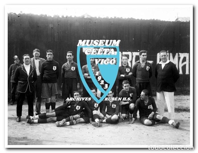 Coleccionismo deportivo: 26 FOTOS DE LA VISITA DE LA SELECCIÓN DE URUGUAY A VIGO EN 1924 - CELTA DE VIGO - Foto 18 - 175731358