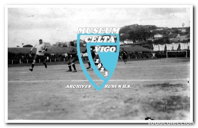 Coleccionismo deportivo: 26 FOTOS DE LA VISITA DE LA SELECCIÓN DE URUGUAY A VIGO EN 1924 - CELTA DE VIGO - Foto 23 - 175731358