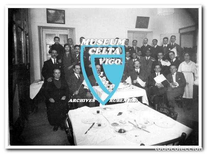 Coleccionismo deportivo: 26 FOTOS DE LA VISITA DE LA SELECCIÓN DE URUGUAY A VIGO EN 1924 - CELTA DE VIGO - Foto 24 - 175731358