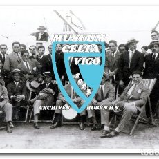 Coleccionismo deportivo: 10 FOTOS DEL VIAJE DEL CELTA DE VIGO A AMÉRICA EN 1928 - PARTIDO CONTRA ARGENTINA. Lote 175731530
