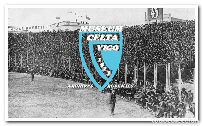 Coleccionismo deportivo: 10 FOTOS DEL VIAJE DEL CELTA DE VIGO A AMÉRICA EN 1928 - PARTIDO CONTRA ARGENTINA - Foto 2 - 175731530