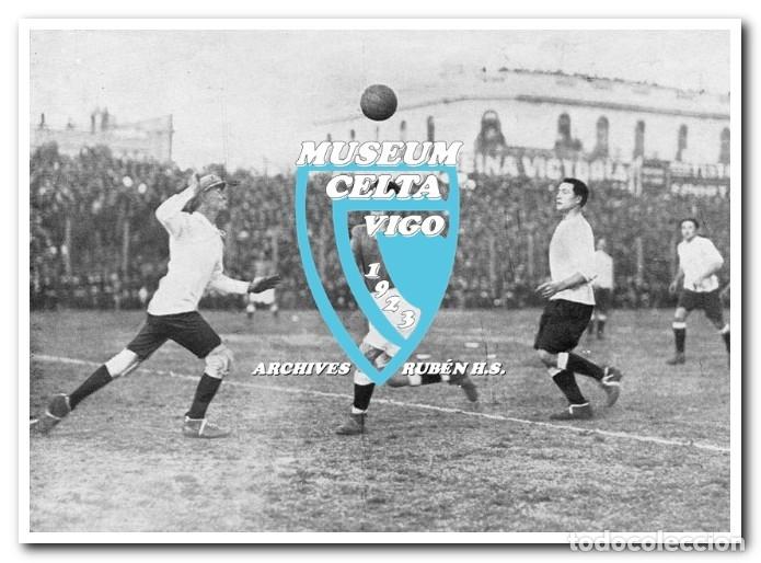 Coleccionismo deportivo: 10 FOTOS DEL VIAJE DEL CELTA DE VIGO A AMÉRICA EN 1928 - PARTIDO CONTRA ARGENTINA - Foto 3 - 175731530