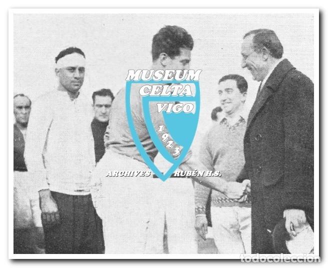 Coleccionismo deportivo: 10 FOTOS DEL VIAJE DEL CELTA DE VIGO A AMÉRICA EN 1928 - PARTIDO CONTRA ARGENTINA - Foto 6 - 175731530