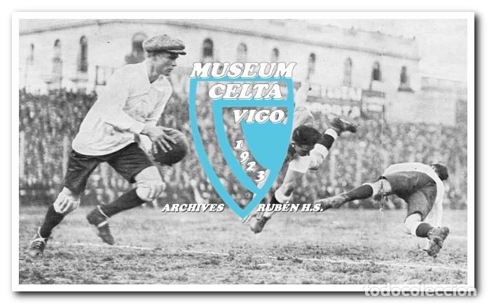 Coleccionismo deportivo: 10 FOTOS DEL VIAJE DEL CELTA DE VIGO A AMÉRICA EN 1928 - PARTIDO CONTRA ARGENTINA - Foto 8 - 175731530