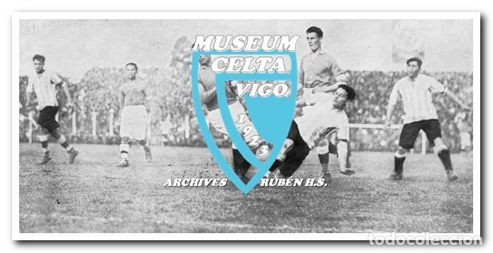 Coleccionismo deportivo: 10 FOTOS DEL VIAJE DEL CELTA DE VIGO A AMÉRICA EN 1928 - PARTIDO CONTRA ARGENTINA - Foto 10 - 175731530