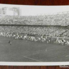 Coleccionismo deportivo: ANTIGUA FOTOGRAFIA DE EL ESTADO SANTIAGO BERNABEU COMO MOTIVO DE LA FINAL DE LA COPA DEL GENERALÍSIM. Lote 175756345