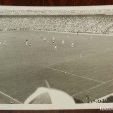 Coleccionismo deportivo: ANTIGUA FOTOGRAFIA DE EL ESTADO SANTIAGO BERNABEU COMO MOTIVO DE LA FINAL DE LA COPA DEL GENERALÍSIM. Lote 175756380