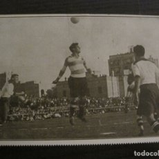 Coleccionismo deportivo: UNA CABEZA DE SANCHO-LOS ASES DEL FUTBOL-POSTAL DE FUTBOL-LA PELOTA SEMANAL-VER FOTOS-(62.174). Lote 176127013