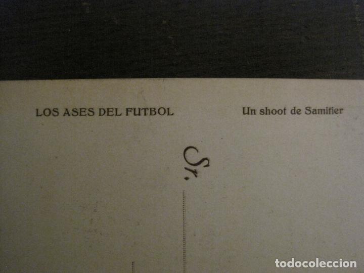 Coleccionismo deportivo: SHOOT DE SAMITIER-FC BARCELONA-ASES DEL FUTBOL-POSTAL FUTBOL-LA PELOTA SEMANAL-VER FOTOS-(62.175) - Foto 4 - 176127167
