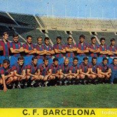 Coleccionismo deportivo: PLANTILLA - F. C. BARCELONA. Lote 176672645