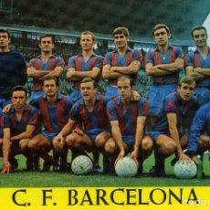 Coleccionismo deportivo: PLANTILLA - F. C. BARCELONA. Lote 176672764