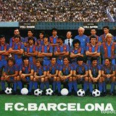 Coleccionismo deportivo: FC BARCELONA - PLANTILLA. Lote 176678960