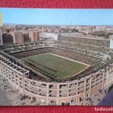 Coleccionismo deportivo: POSTAL CAMPO DE FÚTBOL REAL MADRID SANTIAGO BERNABEU ESPAÑA SPAIN FOOTBALL SOCCER FIELD ESPAGNE VER. Lote 176800795