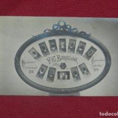 Coleccionismo deportivo: (M) POSTAL FC BARCELONA CAMPEONATO DE PIRINEOS 1912 - CAMPEONATO DE ESPAÑA 1912, JOAN GAMPER. Lote 176922925