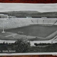Coleccionismo deportivo: FOTO POSTAL DEL ESTADIO DE FUTBOL DE LISBOA, ESTADIO NACIONAL, N. 513, VERDADEIRA FOTOGRAFIA, NO CIR. Lote 177034029