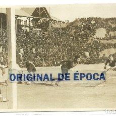 Coleccionismo deportivo: (F-191010)POSTAL FOTOGRAFICA F.C.BARCELONA-SPARTA DE PRAGA - CAMPO DE MONTJUICH - ZAMORA Y SAMITIER. Lote 177859123