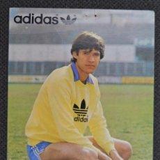 Coleccionismo deportivo: POSTAL PROMOCIONAL ADIDAS FUTBOLISTA VICENTE RAÚL AMARILLA. Lote 179070533