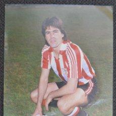 Coleccionismo deportivo: POSTAL PROMOCIONAL PUMA FUTBOLISTA SANTIAGO URQUIAGA. Lote 179071968