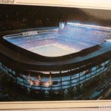 Coleccionismo deportivo: POSTAL MADRID ESTADIO SANTIAGO BERNABEU CIRCULADA. Lote 179077057