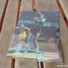 Coleccionismo deportivo: BALONCESTO CONVERSE LA ZAPATILLA DE LA ESTRELLA. Lote 179186968