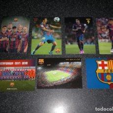 Coleccionismo deportivo: LOTE 7 POSTALES FC BARCELONA (VER RELACIÓN). Lote 179317235