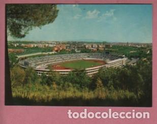 POSTAL DEL CAMPO DE FUTBOL - ESTADIO DEL CENTOMILA DE ROMA - ITALIA - FOTO TERNI (Coleccionismo Deportivo - Postales de Deportes - Fútbol)