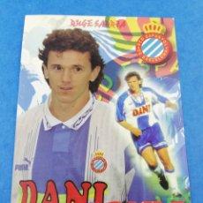Coleccionismo deportivo: POSTAL BRANKO BRNOVIC RCD ESPAÑOL ESPANYOL FUTBOL 1990'S SARRIA.. Lote 181159392