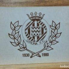 Coleccionismo deportivo: GIRONA F,C.ÁLBUM 52 POSTALES EN SU 50 ANIVERSARIO.1930-1980.GRÁFIQUES CURBET.FUTBOL. Lote 181679351