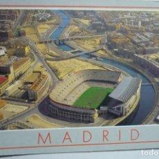 Coleccionismo deportivo: POSTAL MADRID ESTADIO VICENTE CALDERON -CIRCULADA. Lote 289526618
