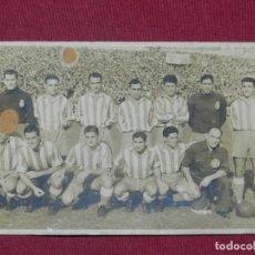 Coleccionismo deportivo: REAL CLUB DEPORTIVO ESPAÑOL ANTIGUA POSTAL FOTOGRAFICA EQUIPO AÑOS 40 ORIGINAL NO REPRODUCCION. Lote 182387992