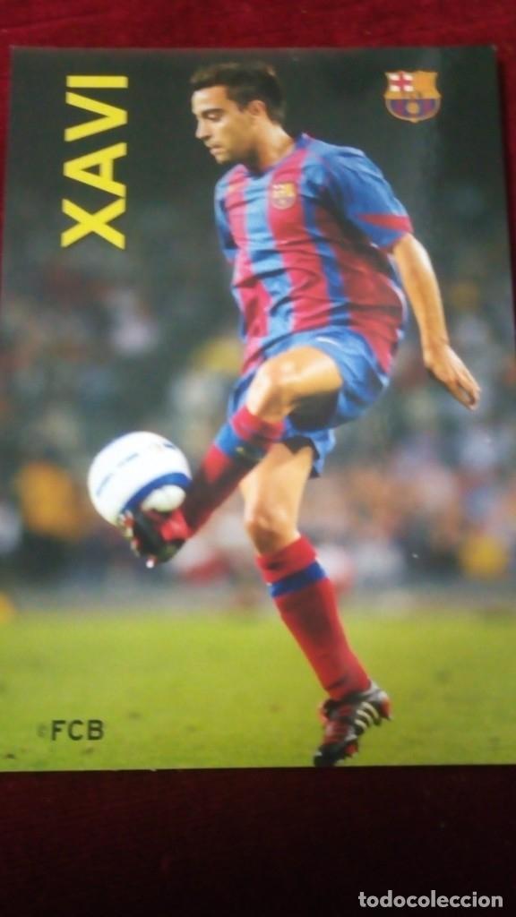 XAVI FCB (Coleccionismo Deportivo - Postales de Deportes - Fútbol)