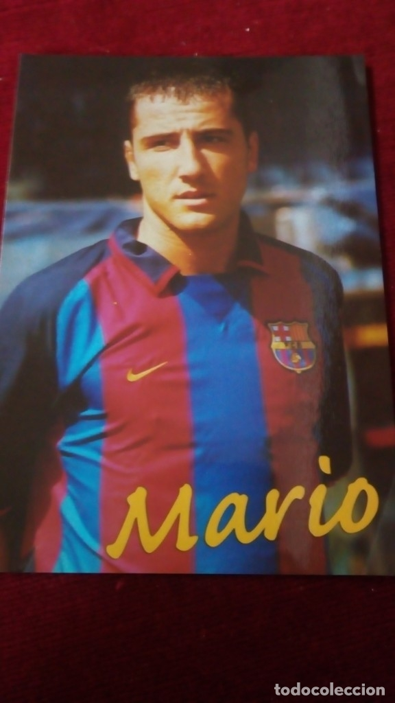 MARIO FCB (Coleccionismo Deportivo - Postales de Deportes - Fútbol)