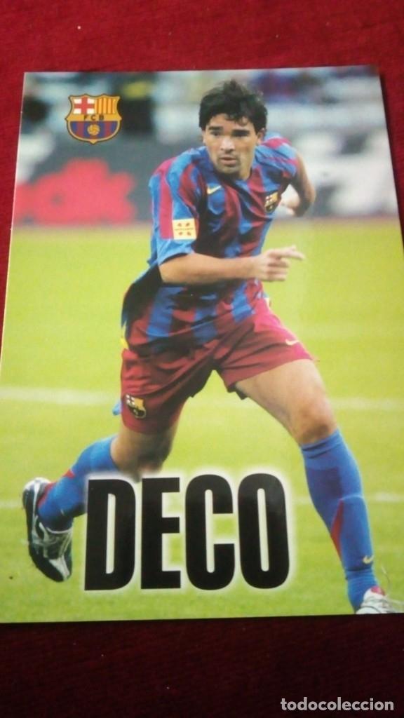 DECO FCB (Coleccionismo Deportivo - Postales de Deportes - Fútbol)