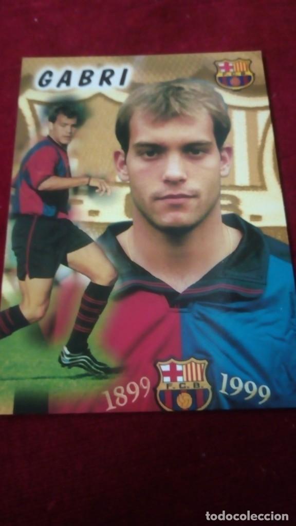 GABRI FCB (Coleccionismo Deportivo - Postales de Deportes - Fútbol)