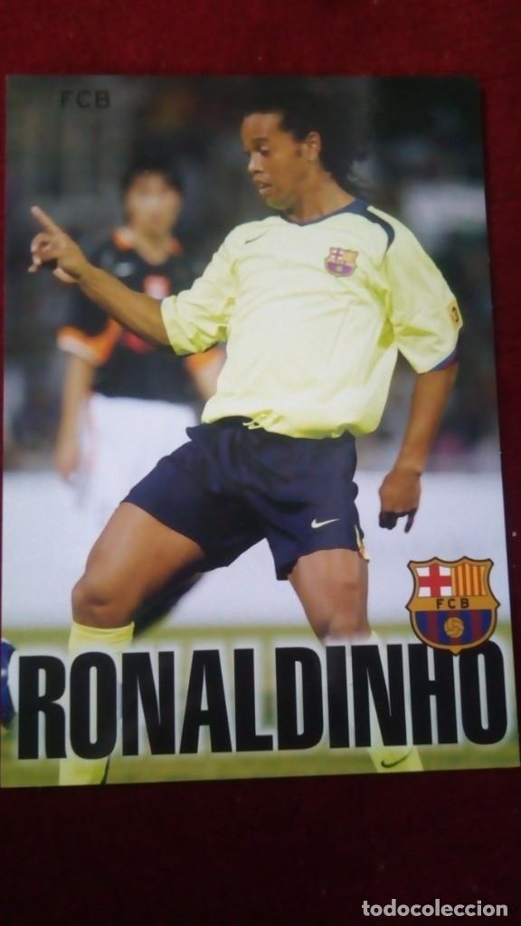 RONALDINHO FCB (Coleccionismo Deportivo - Postales de Deportes - Fútbol)